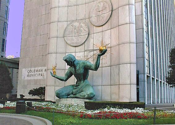 Spirit of Detroit - Courtesy detroit1701.org